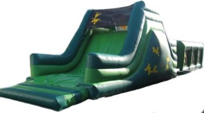 Army Obstacle Course slide end