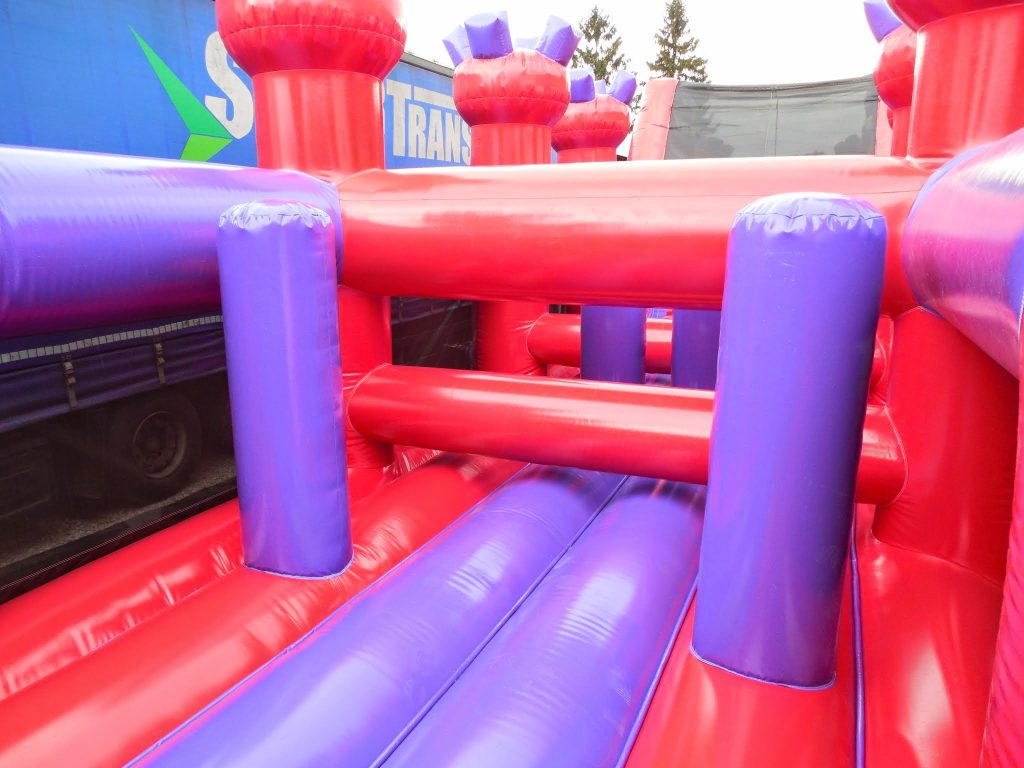 Princess obstacle course for sale, knights and princess obstacle course inside biff and bashes