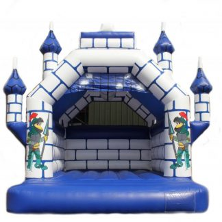 turreted bouncy castle for sale