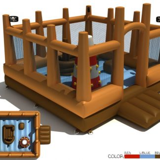 pirate activity bouncy castle
