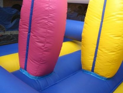 Hawaiian obstacle course biff and bashes