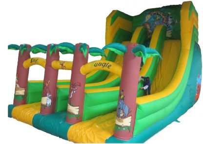 Jungle mega slide