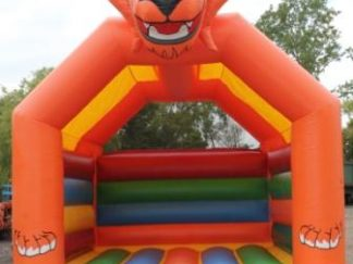 Tiger theme bouncy castle sales