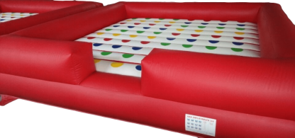 inflatable twister, large inflatable twister game