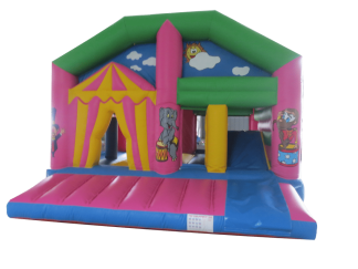 Circus Playzone Slide Combo Activity bounce