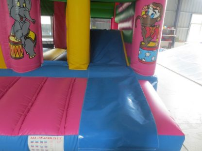 Circus Playzone Slide Combo Activity bounce front step