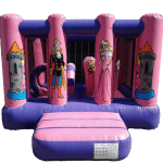 Princess midi bouncy castle manufacturer