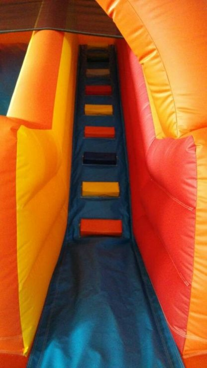 steps for our inflatable slide