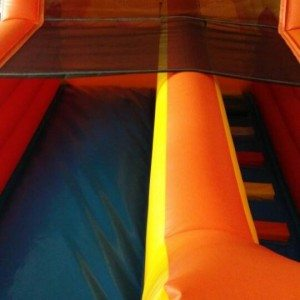 inflatable slide for sale front
