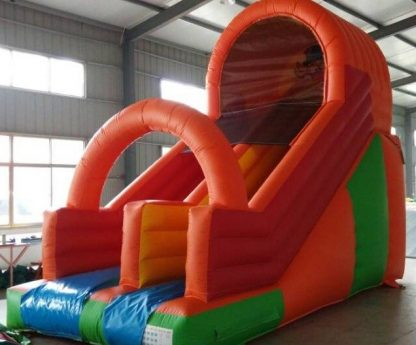 inflatable plain slide front view for sale