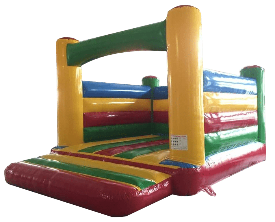 Bouncy Castle Rainbow Box and beam