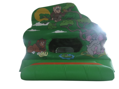 Jungle leterbox ball pool bouncy castle for sale