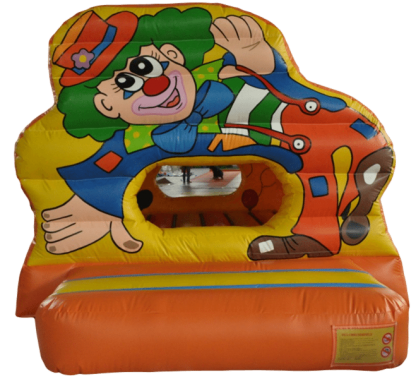 Circus letter box and ball pool inflatable bouncy castle for sale