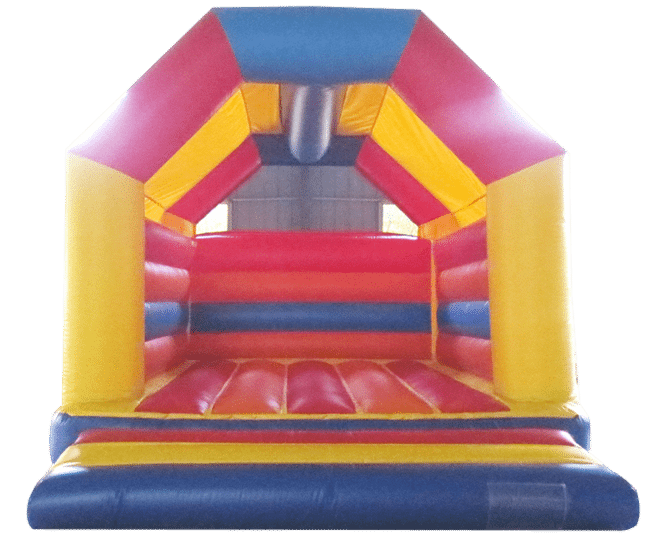 Rainbow bouncy castle for sale