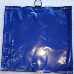 Dark Blue bouncy castle sand bag cover