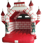 Bouncy Castle - Castle Red/White Adult 5m x 5m