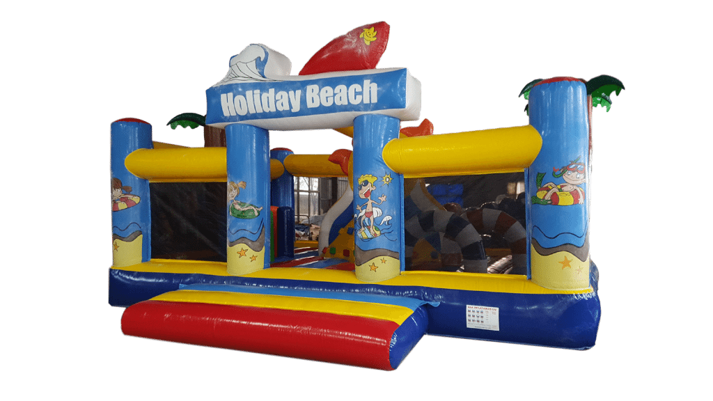 beach theme activity bouncy castle
