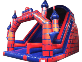 Castle Mega Slide Red and Blue