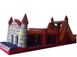 Castle theme obstacle course 2 part