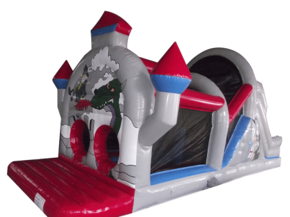 castle themed obstacle course for sale