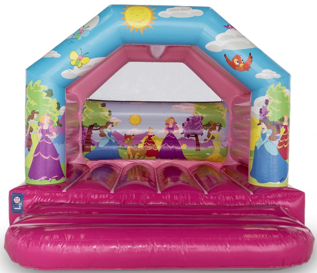 12 x 12 princess a frame bouncy castle