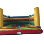 Adult rated 6m x 6m open box bouncy castle for sale