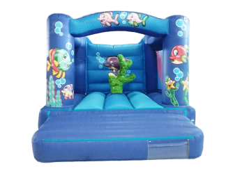 Sea Arched Beam Box Bouncy Castle with Biff and Bash AAA1000