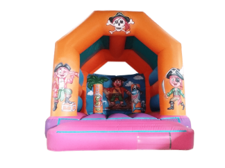 Pirate A Frame Bouncy castle AAA1007