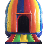 Rainbow disco dome front