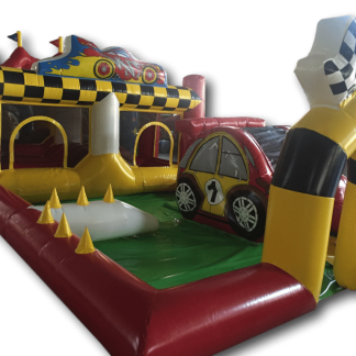 AAA1354 Racing Car Toddler Playzone