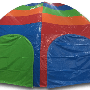 AAA1262 PVC Dome - Spider Tent orange legs multi top-3
