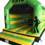 AAA1347 A-Frame Disco Green and Yellow