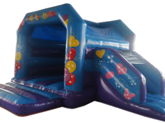Party Side Slide Combo Bouncy Castle - AAA1480