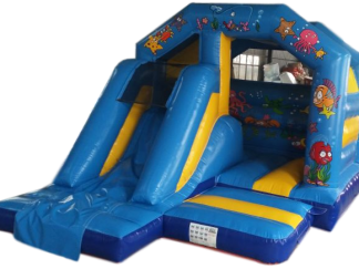 Ocean Front Slide Bouncy castle for sale