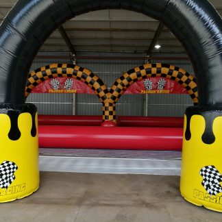 inflatable go cart track for sale