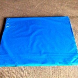 blue bouncy castle mats