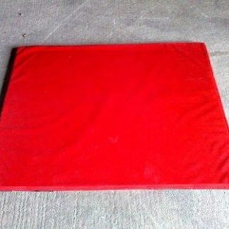 red bouncy castle mats