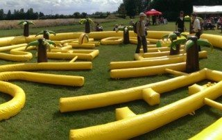Inflatable Crazy Golf Hire