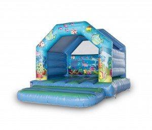 Ocean Theme Bouncy Castle 12 x 12