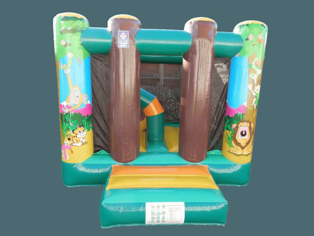 Mini Jungle bouncy castle