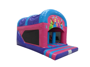 Princess Rear Slide Combo Bouncy Castle