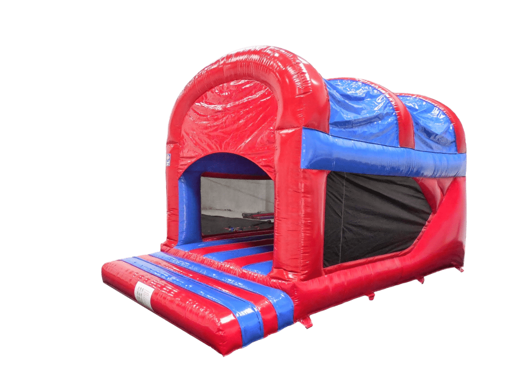 Red and Blue Rear Slide Combo Bouncy Castle.png