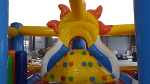 Holiday Beach Play zone large Bouncy castle
