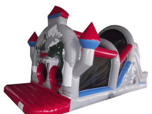 1 Part Castle Obstacle Course