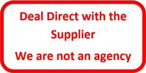 Deal Direct with the supplier