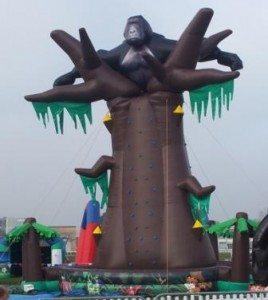 Gorilla Climb, inflatable
