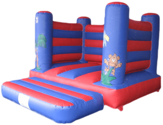 Jungle open box bouncy castle