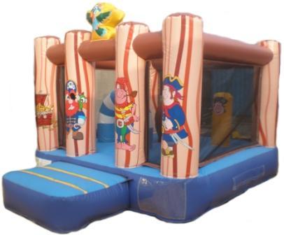 Midi Pirate theme bouncy castle for hire