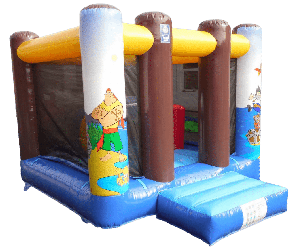 Pirate Mini Bouncy Castle Hire