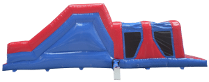 1 Part Obstacle Course Hire Side